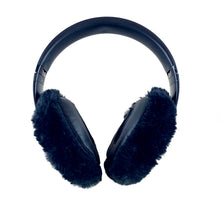 Load image into Gallery viewer, Black Mink Headphone Covers
