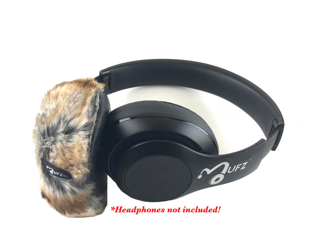 Mink Fur Headphone Covers