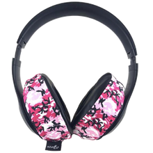 Load image into Gallery viewer, Pink Camo Headphone Covers