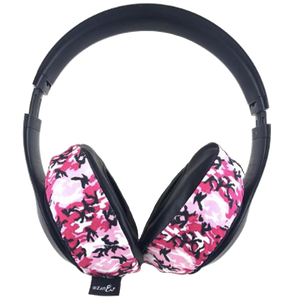 Pink Camo Headphone Covers