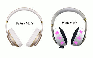 420 Pink Headphone Covers