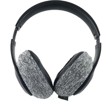Load image into Gallery viewer, Simply Grey Headphone Covers