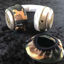 Load image into Gallery viewer, Shiny Camo Headphone Covers