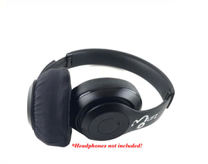 Simple Black Headphone Covers