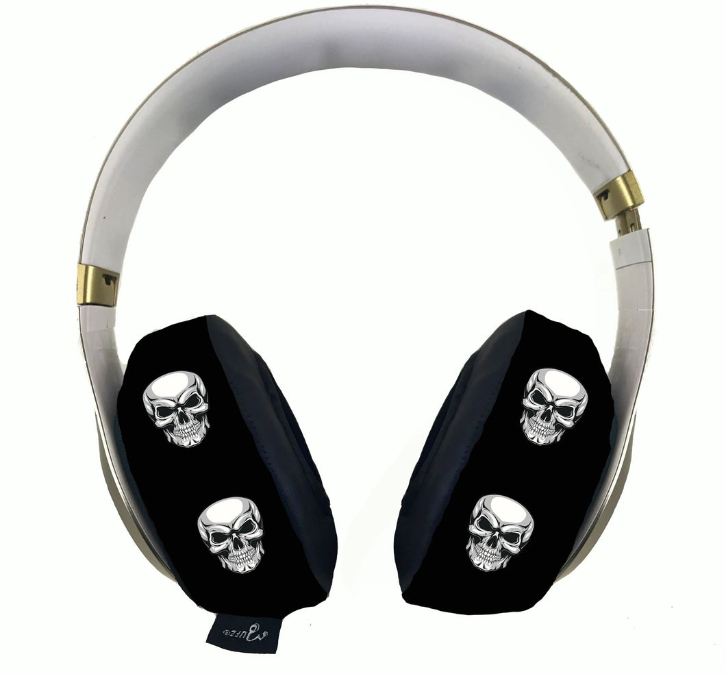 Skull Headphone Covers