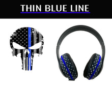 Load image into Gallery viewer, Headphone Covers (Thin Blue Line)