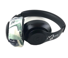 Load image into Gallery viewer, Benjamins (Dollar Bill) Headphone Covers