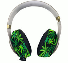 Load image into Gallery viewer, 420 Multi-Green Headphone Covers