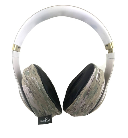 Sand Camo Headphone Covers