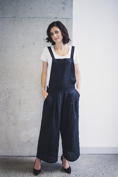 Yoko Convertible Overalls Pants Sewing Pattern