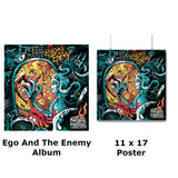 egO anD The eneMy Album W/Poster & Sticker (Bronze Package)