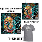 egO anD The eneMy Album W/T-Shirt, Poster & Sticker (Gold Package)