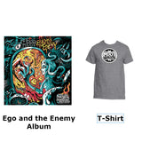 egO anD The eneMy Album W/T-Shirt (Silver Package)
