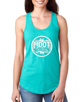 M-Dot LADIES Tanks Tahiti Blue