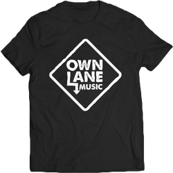 Own Lane Music - Black Tee