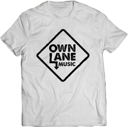 Own Lane Music - White Tee