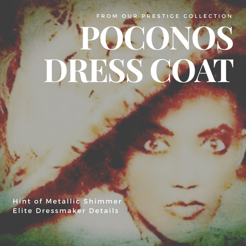 Poconos Dress Coat - COMING SOON - DO NOT ORDER YET