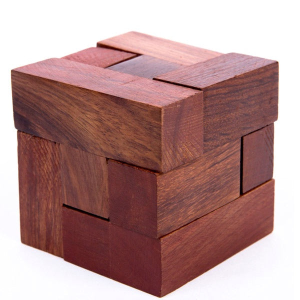 Indian Rosewood Block Puzzle