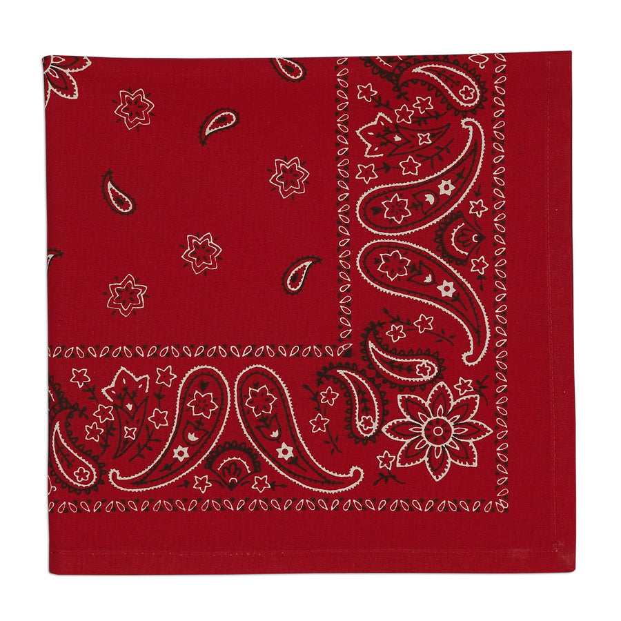 Red Bandana Napkin