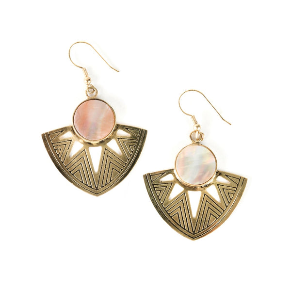 Astral Point Shell Earrings