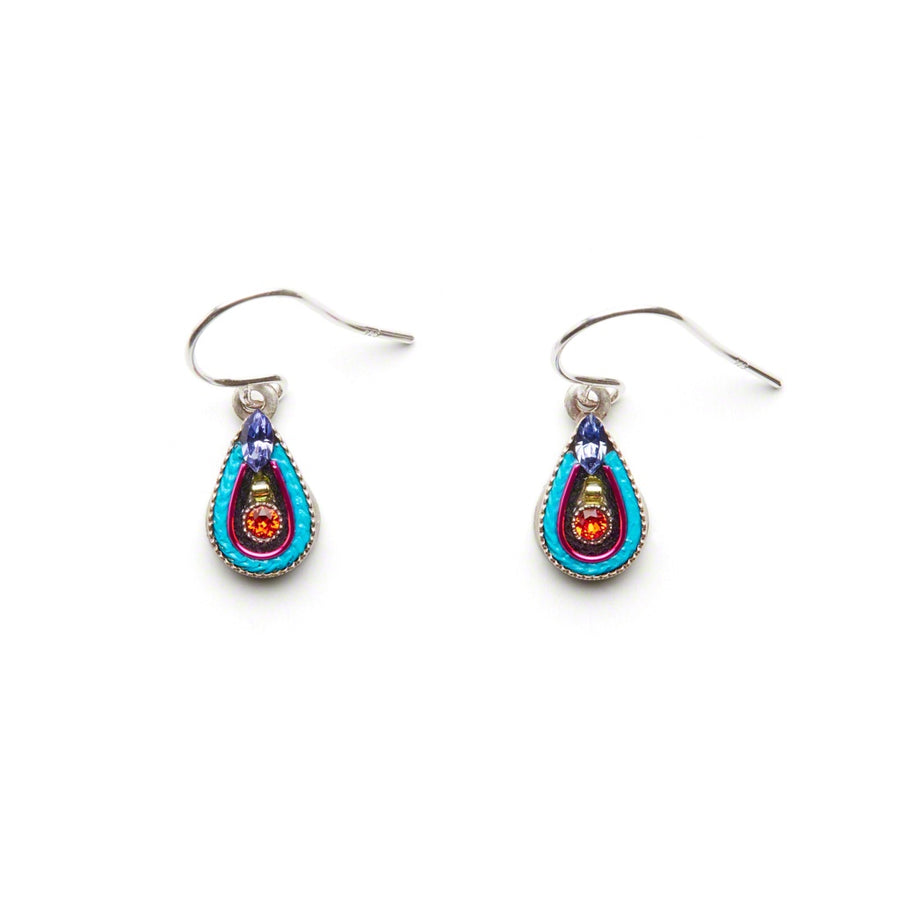 Petite Drop Earrings, Multicolor