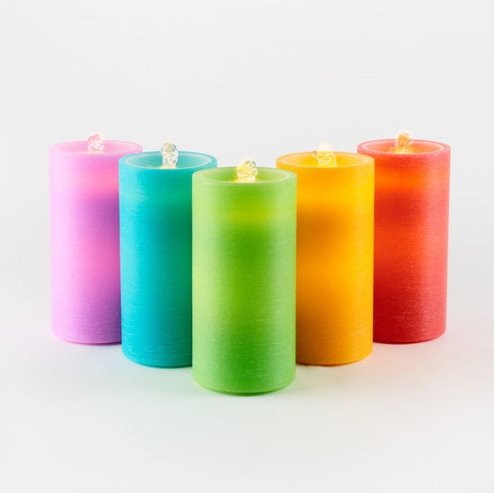 Water Wick Candle - Bright Solid