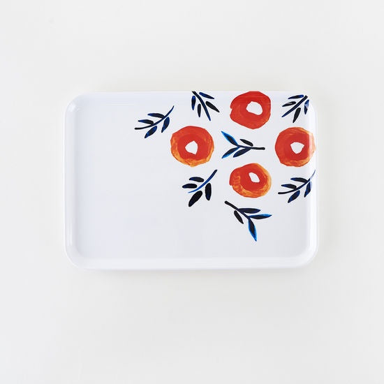 Poppy Rectangular Tray
