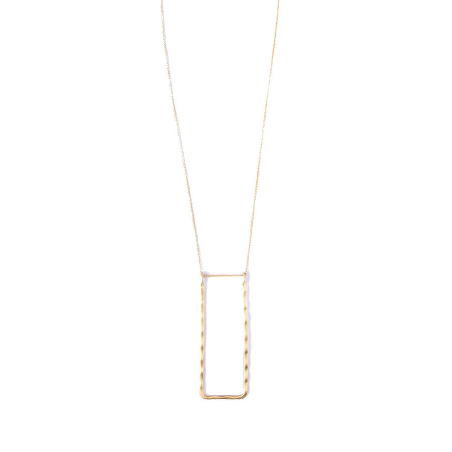 Delicate Frame Necklace