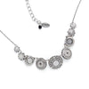 La Dolce Vita Circles Necklace, Black & White