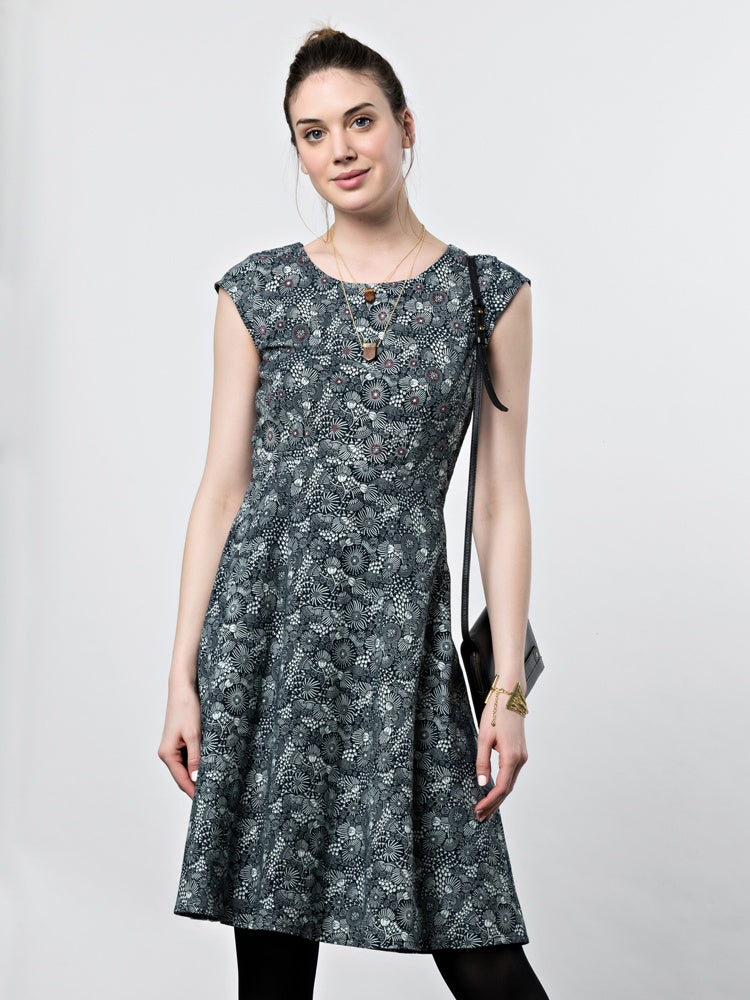 Charcoal Marseille Dress