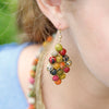 Kantha Diamond Earrings model