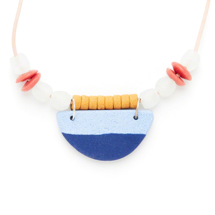 Desert Bloom Necklace Blue