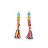 Dripping Kantha Fringe Earrings