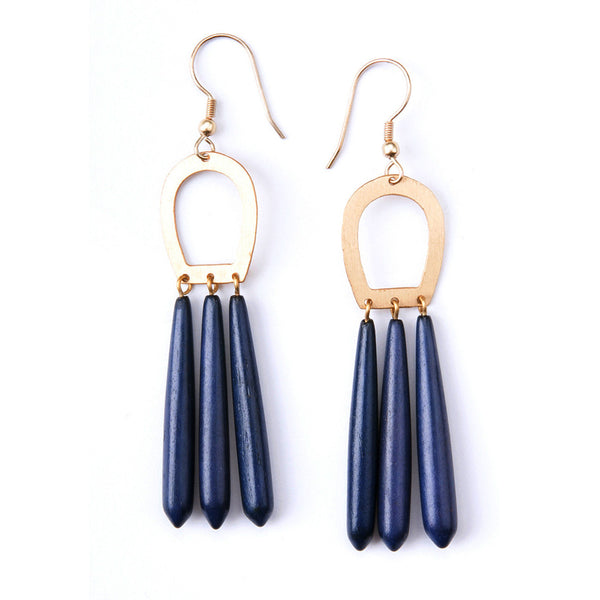 Blue Empress Earrings