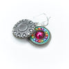 La Dolce Vita Round Earrings, Multicolor alt