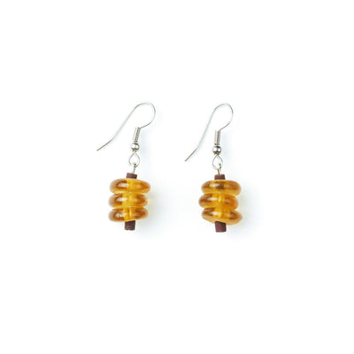 Amber Honey Earrings