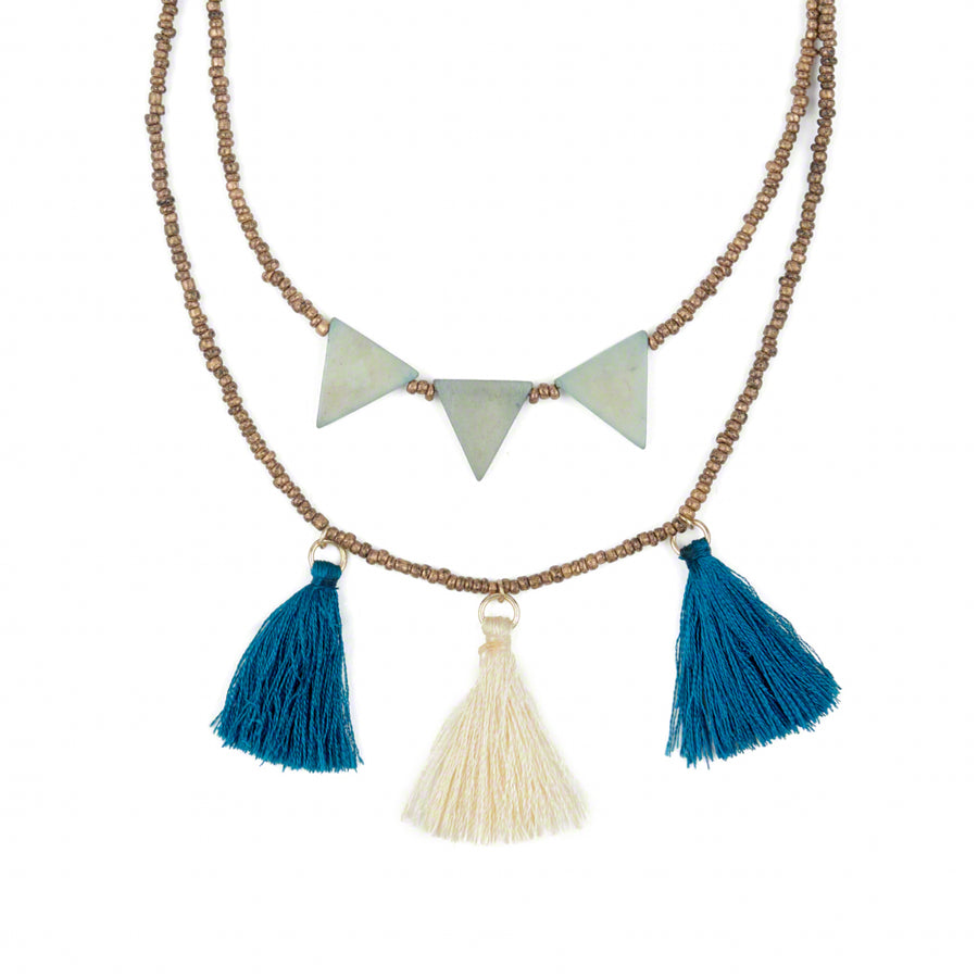 Jubilee  Tassel Necklace Large