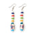 Rainbow Marble Earrings