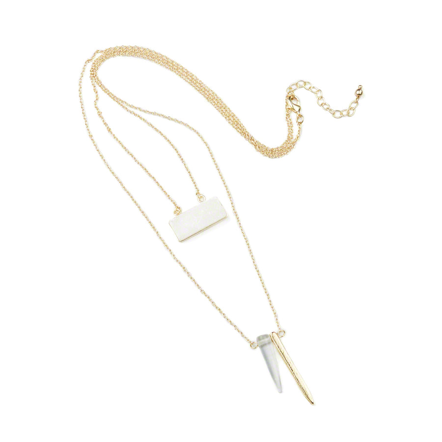 Mystic Layers Necklace Gold