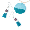Teal Niamey Earrings