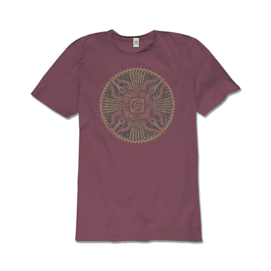 Hand designed by Soul Flower and hand-printed on our soft, eco-friendly organic cotton t-shirt. Made in the USA. 100% organic cotton.