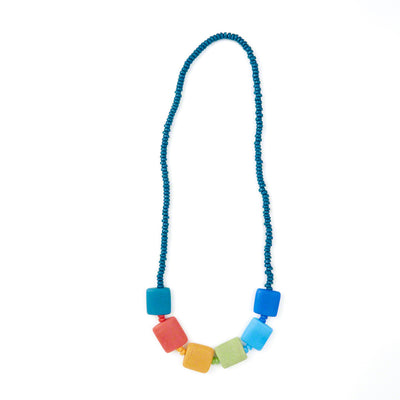 Rainbow Stones Necklace