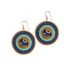 Blue Treasure Trunk Earrings