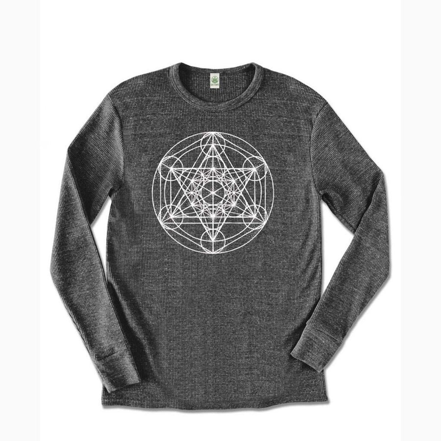 Eco Thermal Metatrons Cube Shirt