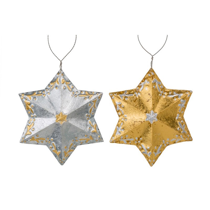 Baroque Star Ornament