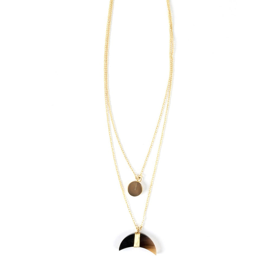 Yara Horn Necklace