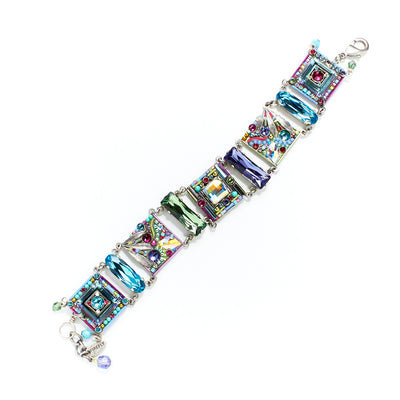 Luxe Intricate Mosaic Bracelet, Soft colors
