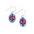 La Dolce Vita Oval Earrings, Bermuda Blue