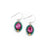 La Dolce Vita Oval Earrings, Indicolite