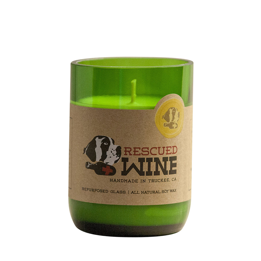 Sauvignon Blanc Wine Bottle Candle